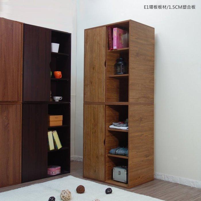 生活大發現-DIY-三格一門多功能衣櫥二入/寬2.3尺/可左右開門