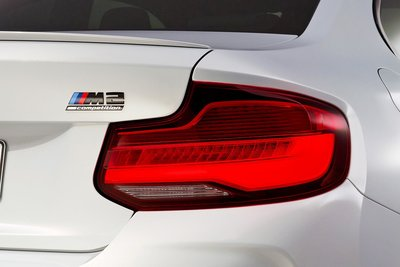 BMW M2 Competition Rear Trunk Badge 高光黑 字標   For F87 / F87
