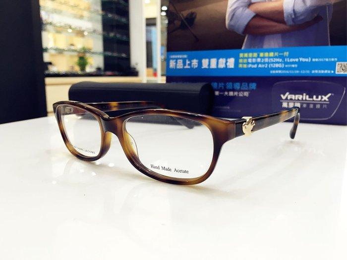 精光堂眼鏡 驚喜出清特價 Marc By Marc Jacobs 玳瑁色光學鏡架 和平鴿logo鏡腳