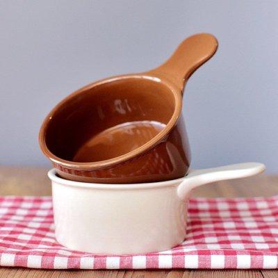聚吉小屋 #熱賣#日式卡通陶瓷舒芙蕾烤箱碗早餐小菜碗寶寶輔食碗麥片例湯碗單柄碗(價格不同 請諮詢後再下標)
