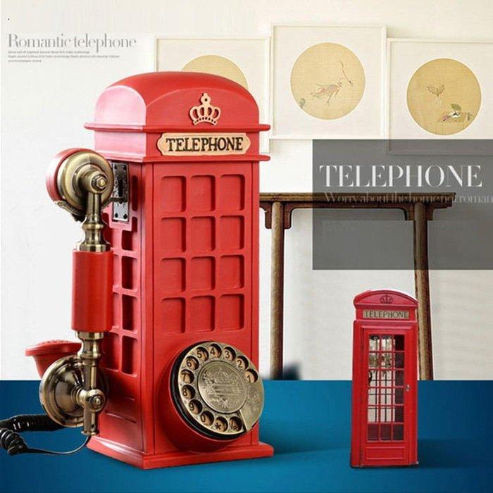 復古座機電話時尚創意個性家用有線無線插卡老式仿古固定電話機