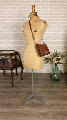 【卡卡頌  歐洲古董】稀有! 法國真古董 Stockman 紙做人形 模特兒 完美纖細 女性 身材比例ss0243✬