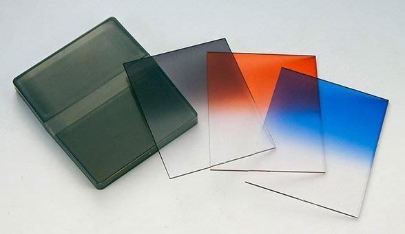 呈現攝影-漸層鏡 Soft ND8 漸層減光鏡 灰 橙  82mm內 適用83x100mm 相容高堅Cokin P系列