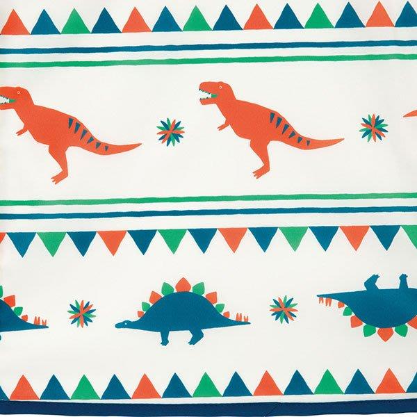 現貨!日本WPC 白堊紀恐龍L 空氣感兒童雨衣/防水外套 附收納袋(120-140cm)