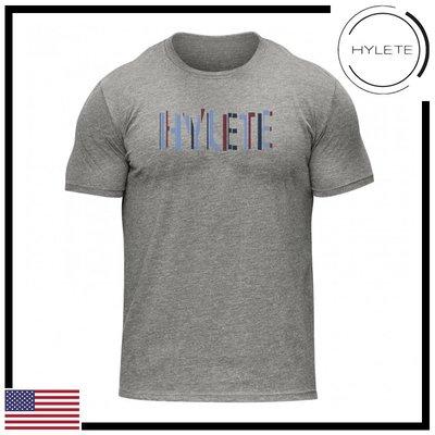 ►瘋狂金剛◄灰色 HYLETE offset tri-blend crew tee 柔軟 透氣 短袖T恤