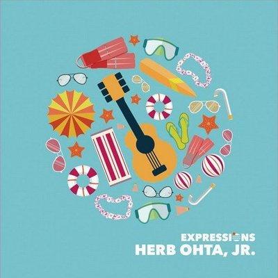 真夏心情Expressions-烏克麗麗自選輯(台灣限定版)/Herb Ohta JR.---JCD030047