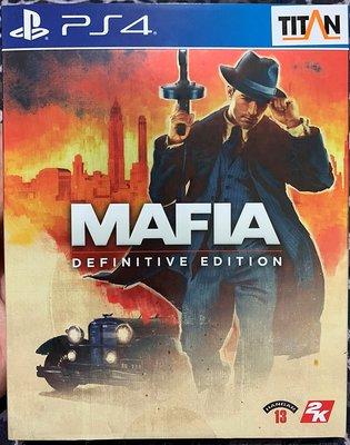 幸運小兔 (新品) PS4遊戲 PS4 四海兄弟 決定版 中文版  Mafia Definitive Edition