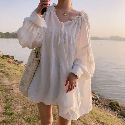 韓系超仙V領設計感燈籠袖娃娃衫【U3530】☆kiyomi☆(樣式請於備註欄留言)