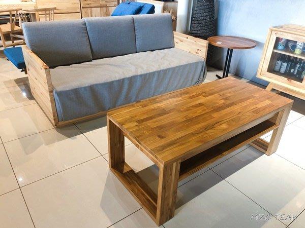 【美日晟柚木家具】松木沙發床 單人床 三人坐沙發 兩用床 客製化 原木家具