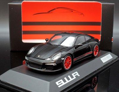 【MASH】[現貨瘋狂價] 原廠 Spark 1/43 Porsche 911 (991II) R black red