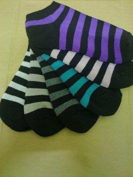 【群益襪子工廠】條紋毛巾短襪-氣墊、社頭鄉襪子、純棉、運動襪、慢跑襪(12雙280)