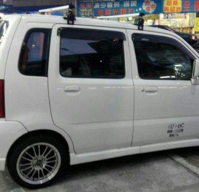【shich上大莊】  SUZUKI 鈴木 Solio 索力歐 ARTC 認證鋁合金車頂架/ 行李架 台中市