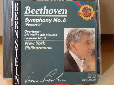 "Bernstein,New York  Phi,Beethoven-Sym No.6""Pastorale""伯恩斯坦指揮紐約愛樂,貝多芬-第6號""田園""交響曲等"