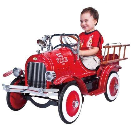 小鬥士 敞篷踏板車 鐵車 復刻 凡爾賽 跑跑車 復古跑車  鐵車 兒童鐵車 兒童 嬰幼兒