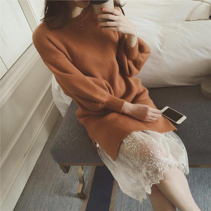 打底裙 拼接網紗魚尾內搭襯裙
