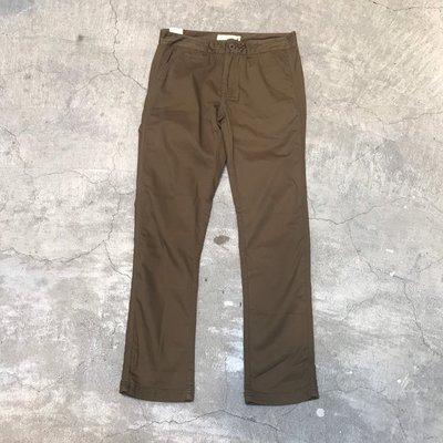 車庫服飾 【零碼特價】 ADLIB STRETCHED TWILL 大地色系 工裝風格 水洗窄版工作褲