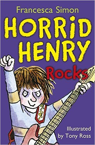 *小貝比的家*HORRID HENRY ROCKS/平裝書+CD/7~12歲