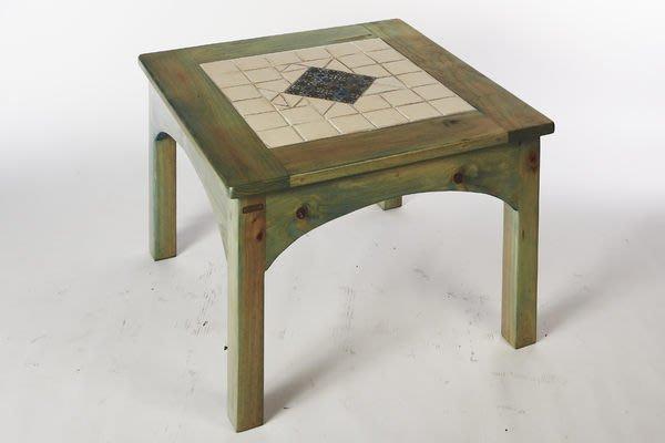 原木工坊~原木家具訂製  歐式鄉村風桌椅組