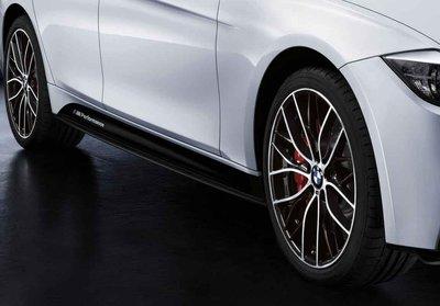 BMW M Performance 正 原廠 側裙 貼紙 For F30 F31