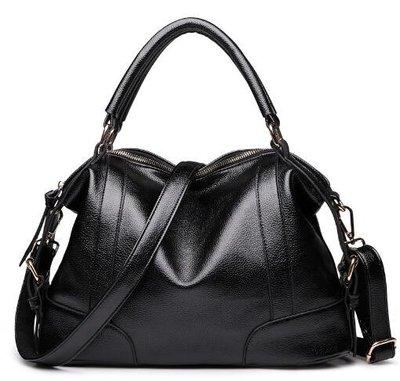 女式包包2018新款潮女版單肩斜挎手提大包歐美時尚女款真皮女包袋