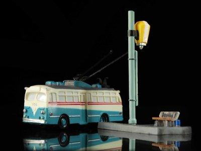 A-203 櫃 現狀品 : TROLLEY BUS 200 TYPE 東京都營 無軌電車 200型  富貴玩具店