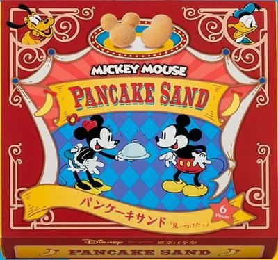 Tokyo banana x 迪士尼 Disney 焦糖杏仁蛋糕 甜點 米奇 米妮 10入