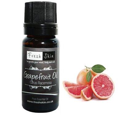英國製造100%純  10ml  天然 葡萄柚精油 (粉紅柚)非水溶性化學香精 非台灣分裝   原裝