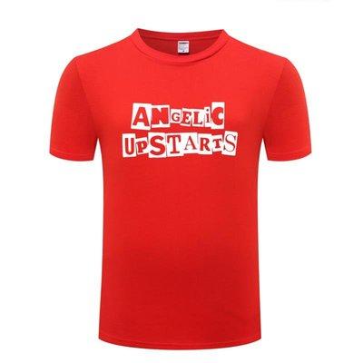 男式短袖T恤 Angelic Upstarts 朋克搖滾 純棉T恤 judoo