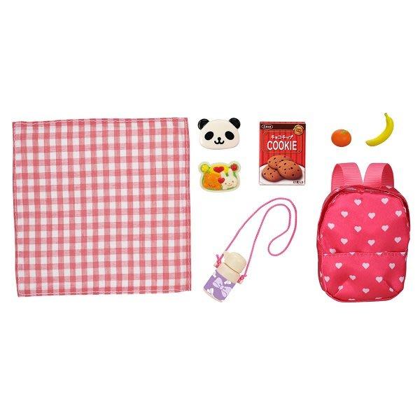 【HAHA小站】麗嬰 正版 TOMY 多美 LICCA 莉卡娃娃 LG-10 野餐組 配件 家家酒 禮物 LA61452