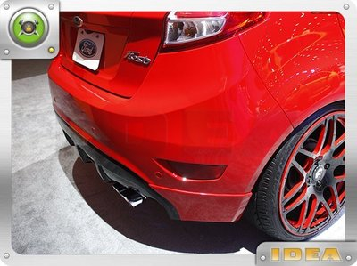 泰山美研社 D9995 Ford 福特 Fiesta 車款 排氣管 國外進口