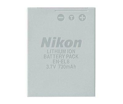 【eWhat億華】NIKON EN-EL8  原廠電池 裸電 裸裝 Nikon Coolpix P1 / P2 P系列 平輸 【1】