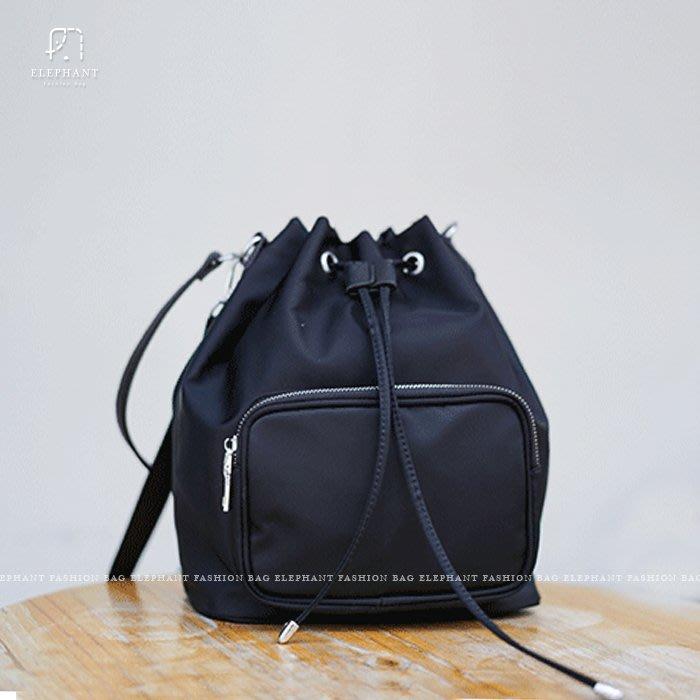 【艾樂芬】韓國 尼龍 防水 輕便 媽媽包 尼龍水桶包 托特包 大包 大方包 手提包 肩背包 後肩包 後背 多用包