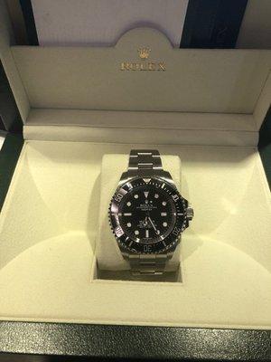 勞力士Rolex 116660 水鬼王(已售)