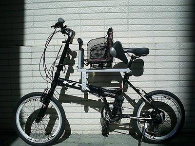[單車小站] 前快拆兒童安全椅(含座墊)