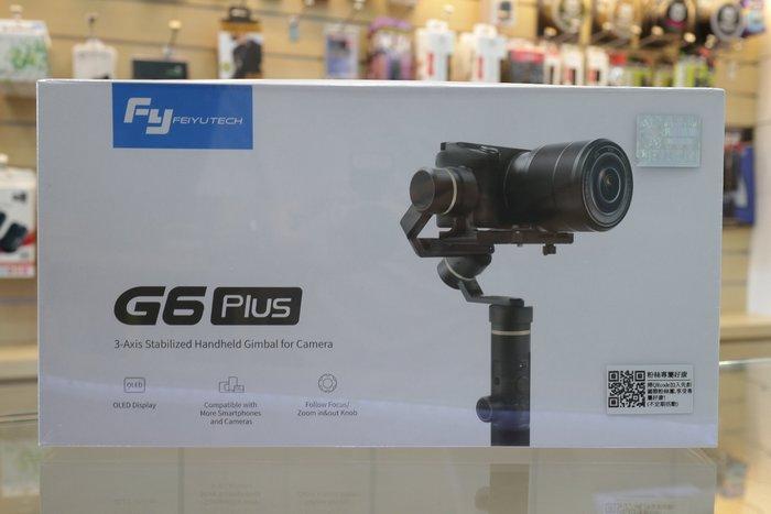 【日產旗艦】優惠價6/28止 Feiyu 飛宇 G6 plus G6P 手持三軸穩定器 公司貨 HERO7 A6400