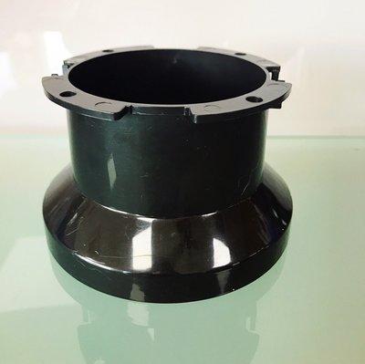 行家馬克 機箱導風管 一體式風管 單體式風管 機箱排風管 圓形接口風扇10公分