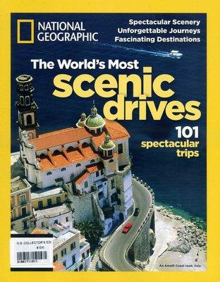 紅蘿蔔工作坊/國家地理雜誌~ Most scenic drives 101 / 世界上101個最漂亮風景(外文書)8D