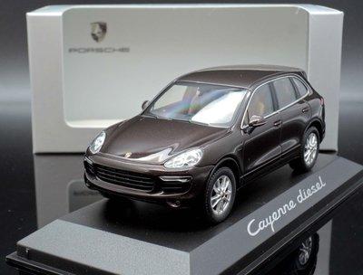 【MASH】現貨瘋狂價 原廠 Minichamps 1/43 Porsche Cayenne Dissel 2014