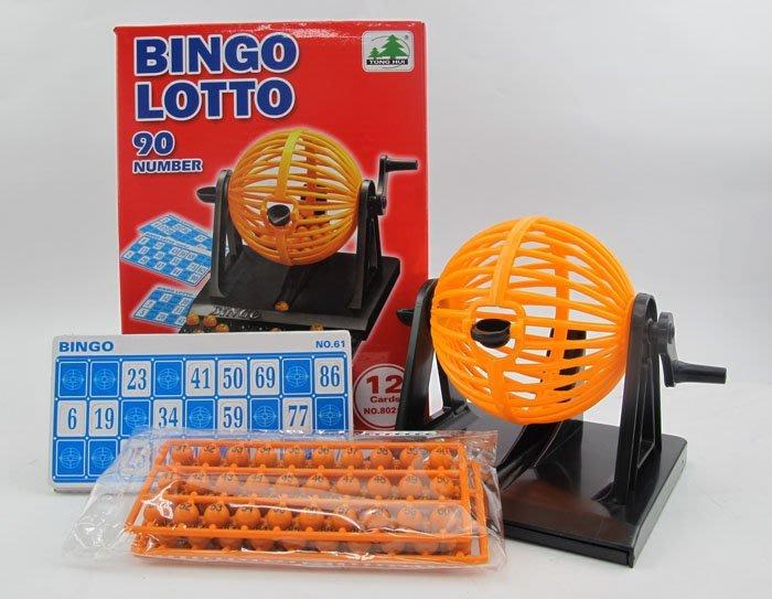 【阿LIN】202200 8021A盒裝90球搖獎機 益智迷你型賓果機 開獎機 手動Bingo 彩票機 抽獎機 樂透機