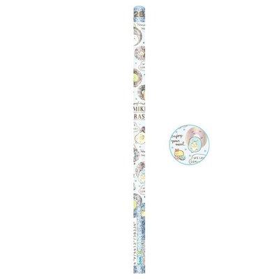角落生物SumikkoGurashi 2B鉛筆,三角鉛筆組/鉛筆/自動鉛筆/筆芯/幼兒鉛筆,X射線【C756334】