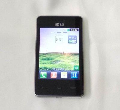 LG 雙咭手機 (LG-T375) 有電池 連 火牛