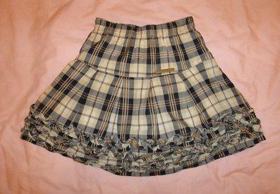 英國 kinloch anderson 女童裝 短裙 3歲 100cm (3-100) 附 全長內裏