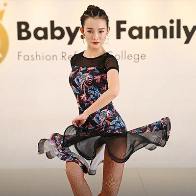 5Cgo【鴿樓】含稅會員有優惠 566887762082 拉丁舞裙新款夏季演出連衣裙子女成人練功服裝藝考比賽摩登
