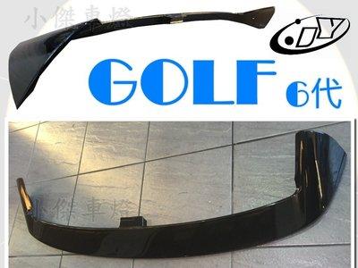 小傑車燈精品--全新 福斯 VW GOLF 6 代 09 10 11 12 年 VOTEX V牌 尾翼 後擾流版
