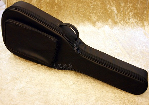 《民風樂府》台灣製 合成皮 木吉他軟盒 安全防護琴袋  可雙肩後背 木吉他HH硬袋