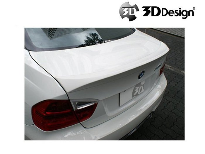 3DDesign Racing Trunk Spoiler 尾翼 鴨尾 BMW 寶馬 3系列 E90 M3 04-14 專用