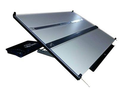 HM售全新*正A1 70x90cm 攜帶式桌上型磁性製圖板.證照考尺寸 **(製圖板製圖桌製造廠)