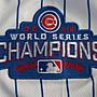 漫無止境wkky Cubs球衣MLB小熊隊棒球服49號ARRIETA灰白色金字總冠軍標短袖T恤