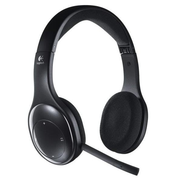 【鳥鵬電腦】Logitech 羅技 h800 無線耳機麥克風 2.4 G 無線 藍牙 折疊 充電電池 抗噪音麥克風