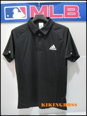【喬治城】2019 ADIDAS 男款 CLUB POLO衫(黑色) 正品公司貨 DU0856